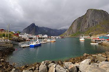 Hamnoya, Moskenesoya Island, Lofoten Islands, Norway, Scandinavia, Europe