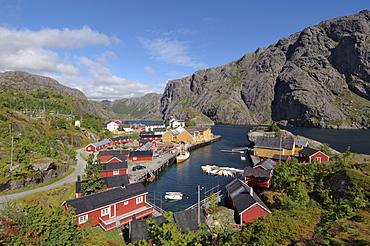 Nusfjord, Flakstadoya, Lofoten Islands, Norway, Scandinavia, Europe