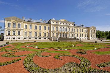 Rundale Palace, near Bauska, Latvia, Baltic States, Europe
