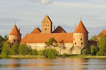 Trakai Castle, Trakai, near Vilnius, Lithuania, Baltic States, Europe