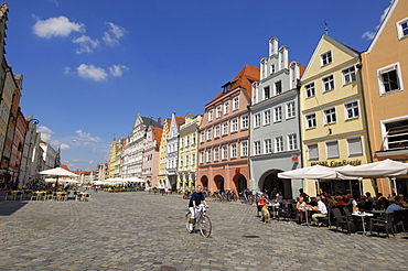 Altstadt, Landshut, Bavaria, Germany, Europe