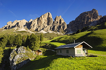 Pizzes da Cir, Puez Gruppe, Dolomites, Italy, Europe