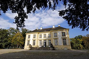 Badenburg Pavilion, a bathing lodge in the grounds of Schloss Nymphenburg, Munich (Munchen), Bavaria (Bayern), Germany, Europe