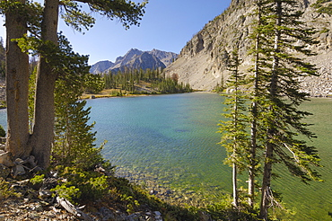 Sawtooth Mountains, Sawtooth Wilderness, Sawtooth National Recreation Area, Rocky Mountains, Idaho, United States of America, North America