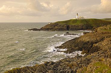 Killantringall lighthouse, near Portpatrick, Rhins of Galloway, Dumfries and Galloway, Scotland, United Kingdom, Europe