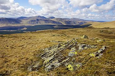 Galloway Hills from Rhinns of Kells, Dumfries and Galloway, Scotland, United Kingdom, Europe