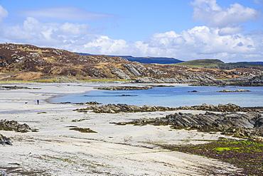 Uisken beach, near Bunessan, Isle of Mull, Inner Hebrides, Argyll and Bute, Scotland, United Kingdom, Europe