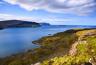 Loch na Keal, Isle of Mull, Inner Hebrides, Argyll and Bute, Scotland, United Kingdom, Europe