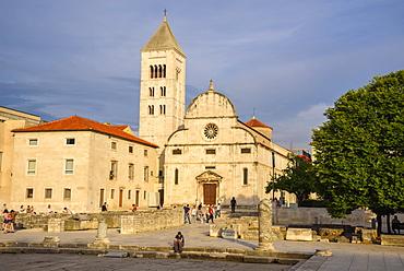 Church of St Mary, Old Town, Zadar, Croatia, Europe
