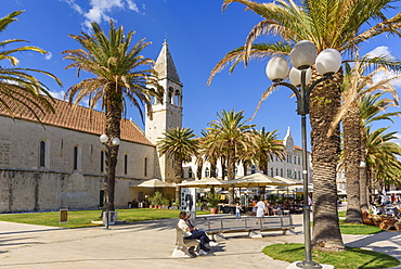 Church of St. Dominic, Trogir Old Town, UNESCO World Heritage Site, Croatia, Europe