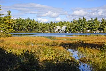 Silver Lake in Killarney Provincial Park, Ontario, Canada
