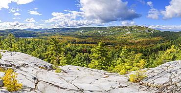 La Cloche Silhouette Trail in Killarney Provincial Park, Ontario, Canada, North America