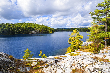 Little Superior Lake in Killarney Provincial Park, Ontario, Canada, North America