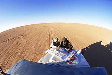 Awbari Erg, Southwest desert, Libya, North Africa, Africa