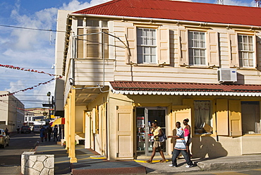 The Old City, St.John's, Antigua, Leeward Islands, West Indies, Caribbean, Central America