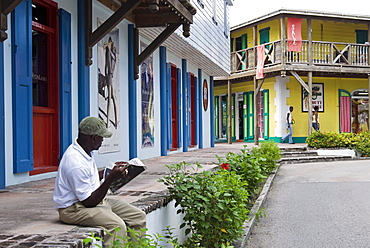 Port area, St.John's, Antigua, Leeward Islands, West Indies, Caribbean, Central America