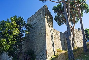 Pisana Fortress, Marciana, Isola d'Elba, Elba, Tuscany, Italy, Europe