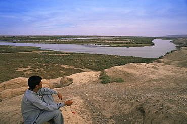 Tigris River, Iraq, Middle East