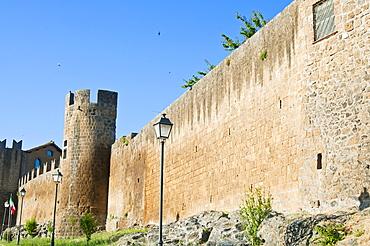 City Ramparts, Tuscania, Viterbo province, Latium, Italy, Europe