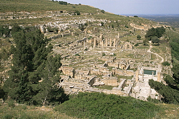 Apollo Sanctuary, Cyrene, UNESCO World Heritage Site, Cyrenaica, Libya, North Africa, Africa