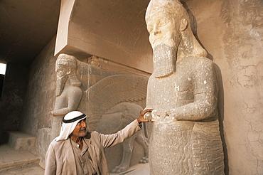 Archaeological area, Nimrud, Iraq, Middle East