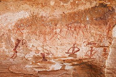 Rock paintings, Twyfelfontein, UNESCO World Heritage Site, Damaraland, Kunene Region, Namibia, Africa