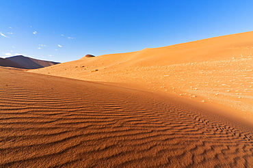 View of dunes, Sossusvlei, Namib Desert, Namib Naukluft Park, Namibia, Africa