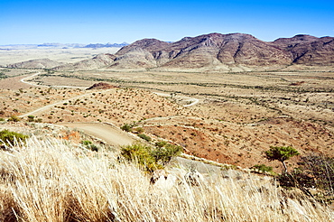 View of the area close to road C 26, Khomas Region, Namibia, Africa