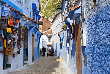Chefchaouen (Chaouen), Tangeri-Tetouan Region, Rif Mountains, Morocco, North Africa, Africa