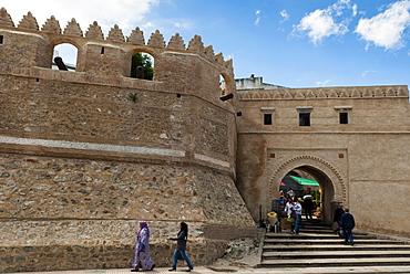 City ramparts, Medina, Tetouan, UNESCO World Heritage Site, Morocco, North Africa, Africa
