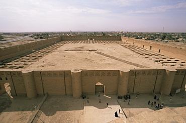 Al Malwuaiya Court, Samarra, Iraq, Middle East
