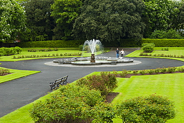 Gardens of Kilkenny Castle, Kilkenny, County Kilkenny, Leinster, Republic of Ireland (Eire), Europe