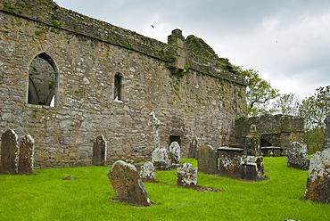 Jerpoint Abbey, County Kilkenny, Leinster, Republic of Ireland (Eire), Europe