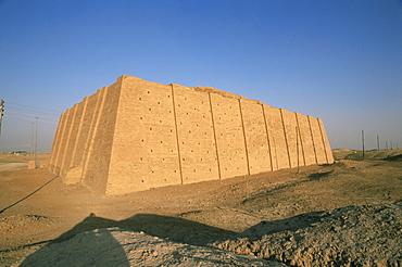 Ziggurat, Ur, Iraq, Middle East