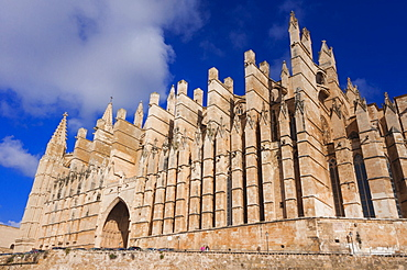 Cathedral of Santa Maria of Palma (La Seu), Palma de Mallorca, Majorca, Balearic Islands, Spain, Europe
