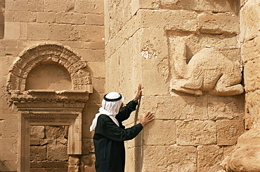 Temple of Allat, Hatra, UNESCO World Heritage Site, Iraq, Middle East