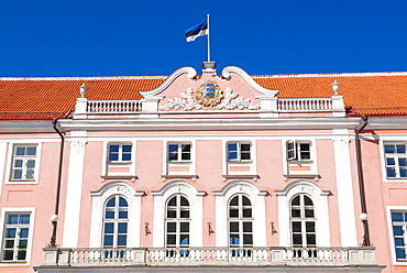 Stenbock House, Government of Republic of Estonia, Toompea, Old Town, UNESCO World Heritage Site, Tallinn, Estonia, Baltic States, Europe