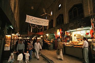 The bazaar, Karbala (Kerbela), Iraq, Middle East