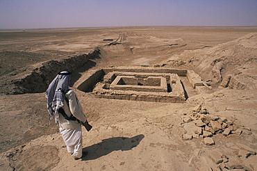 Anu Temple, Uruk, Iraq, Middle East