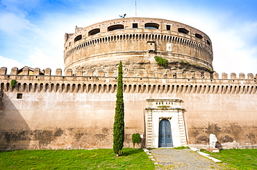 Mausoleum of Hadrian (Castel Sant'Angelo), UNESCO World Heritage Site, Rome, Lazio, Italy, Europe