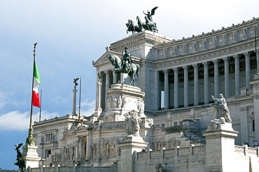 Altare della Patria (Il Vittoriano), Rome, Lazio, Italy, Europe