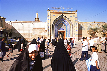 Kadoumia Mosque, Baghdad, Iraq, Middle East