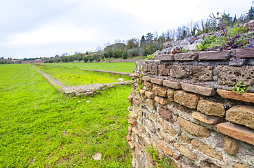 Circus of Maxentius, Appian Way, Rome, Lazio, Italy, Europe
