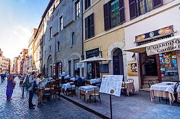 The Jewish Ghetto, Rome, Lazio, Italy, Europe