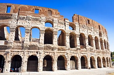 Colosseum (Flavian Amphitheatre), UNESCO World Heritage Site, Rome, Lazio, Italy, Europe