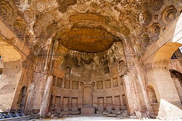Basilica of Maxentius (Constantine), Roman Forum, UNESCO World Heritage Site, Rome, Lazio, Italy, Europe