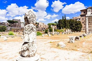 Remains of Basilica Aemilia, Roman Forum, UNESCO World Heritage Site, Rome, Lazio, Italy, Europe