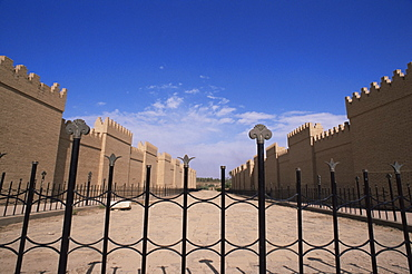 Processional street, Babylon, Iraq, Middle East