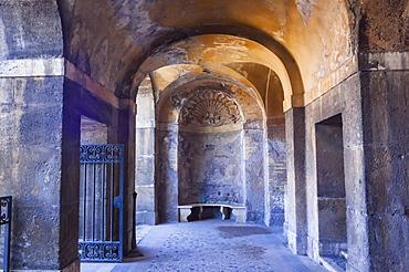 Rain Nymphaeum, Roman Forum, UNESCO World Heritage Site, Rome, Lazio, Italy, Europe