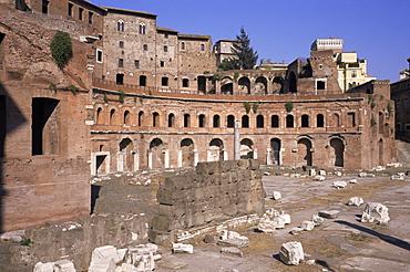 Forum and markets of Trajan, Rome, Lazio, Italy, Europe